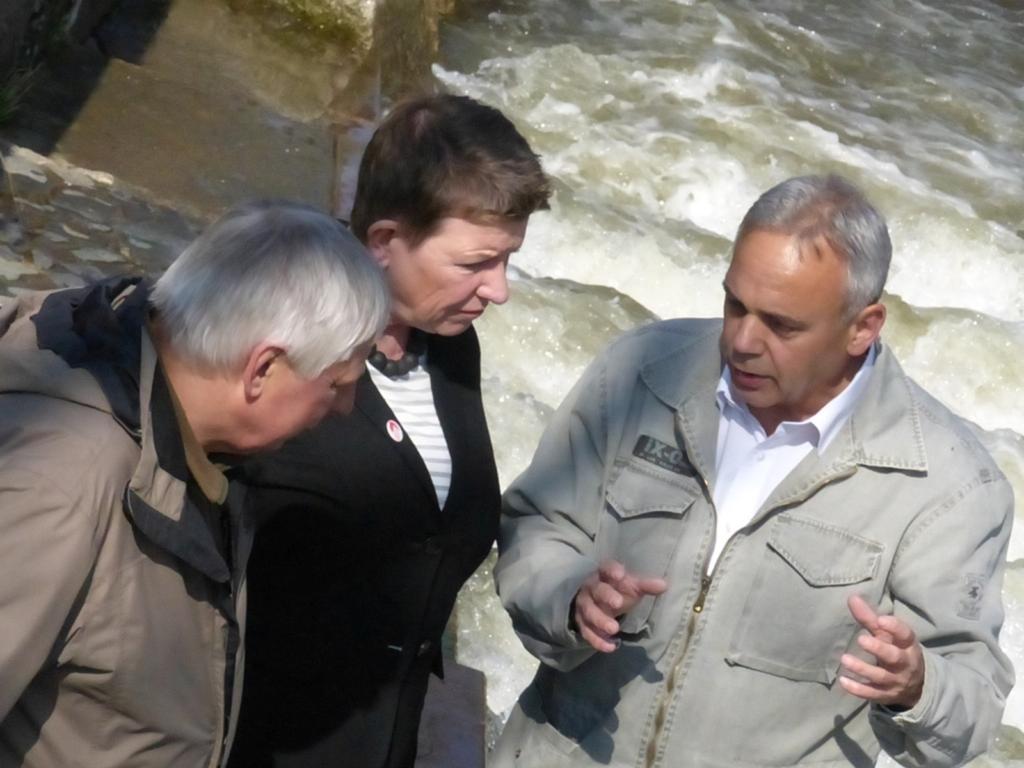 Otfried Wüstemann, Prof. Dr. Claudia Dalbert und Ulrich Eichler.